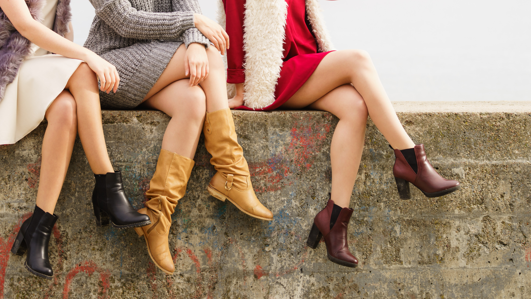 buty kozaczki damskie