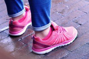 buty sportowe różowe